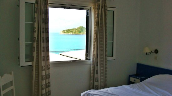 Belle Helene Hotel: widok z pokoju