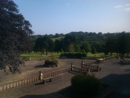 Elfordleigh Hotel: view from our room
