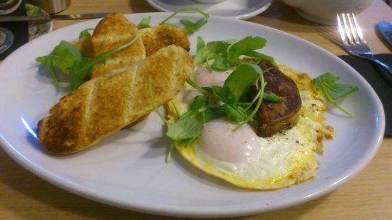 Quay Ingredient: Foie gras with a hen's egg.
