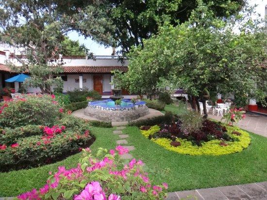 Hotel Spa Posada Tlaltenango : Jardín