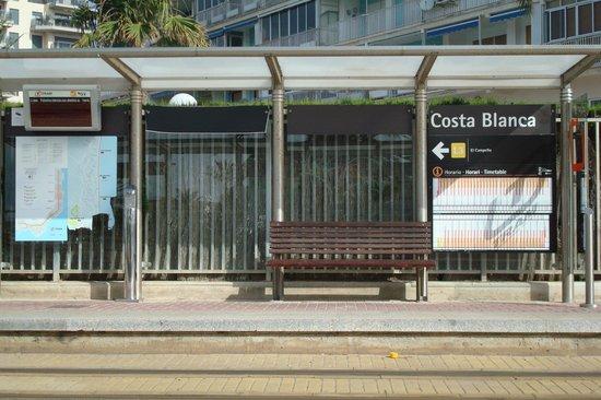Almirante Hotel: Closest tram stop to the hotel
