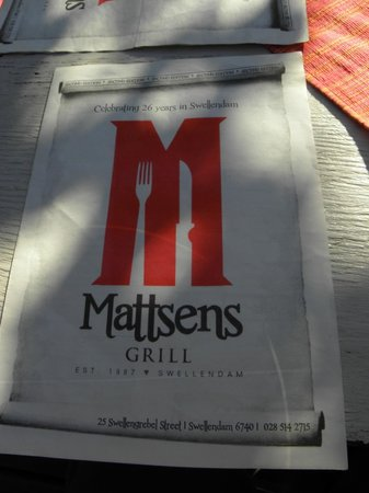 Mattsens Pizza Steakhouse : Across from the museum