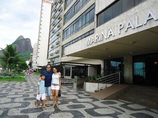 Hotel Marina Palace Rio Leblon: Exelente o hotel