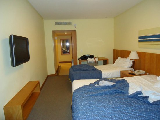 Hotel Marina Palace Rio Leblon: quartos novos e amplos,