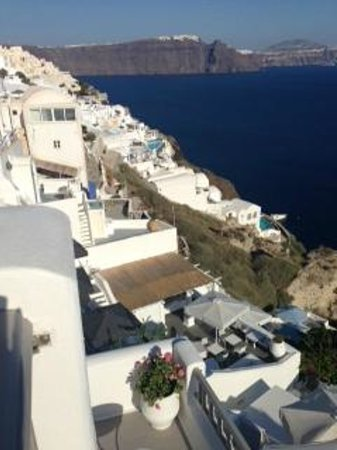 Filotera Suites: View from the terrace