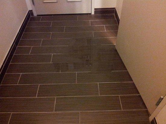 La Quinta Inn & Suites Bonita Springs Naples North: L'acqua dalla doccia...al corridoio!