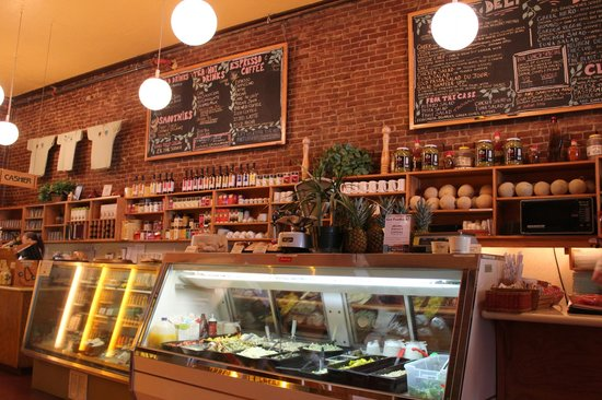 Greenleaf Restaurant: deli selection