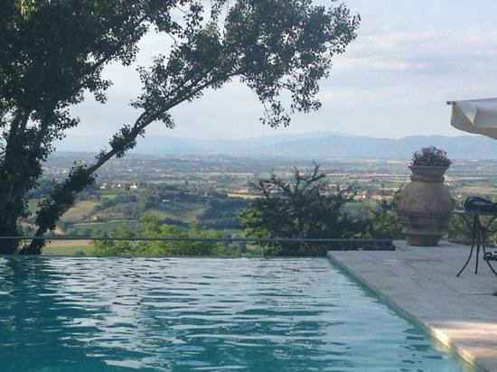 Villa Cicolina : View from the pool