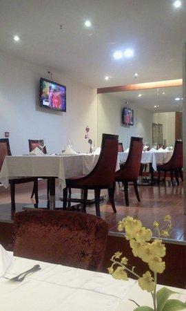 Hotel Ritz Victoria Garden: Cantinho do restaurante