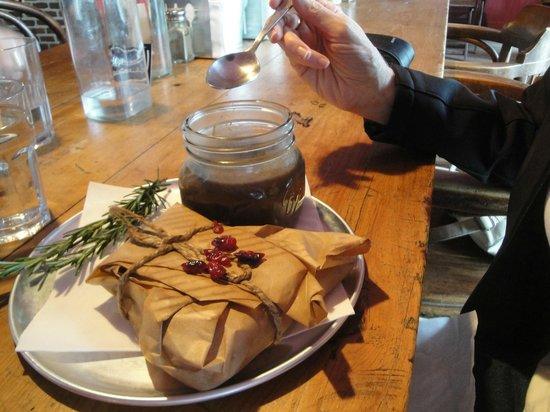 C'est la vie café : Homemade Mushroom Soup and Hot Sandwich