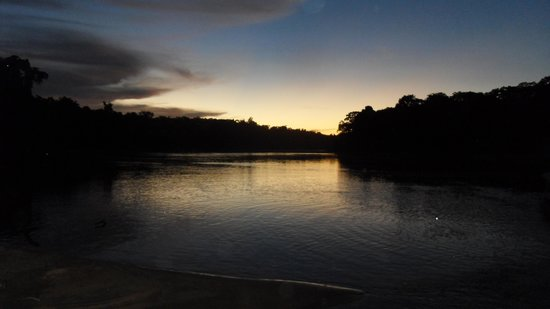Refugio Amazonas: Sunset