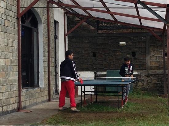 Aamod Tethys @ Narkanda: table tennis @ Amod narkanda