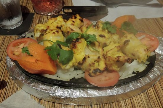 Tandoor : chicken stuffed with minced chicken