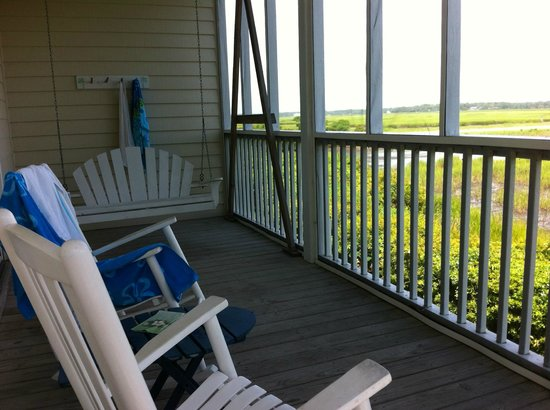 The Sunset Inn: The Screen Porch of the Vesta Room