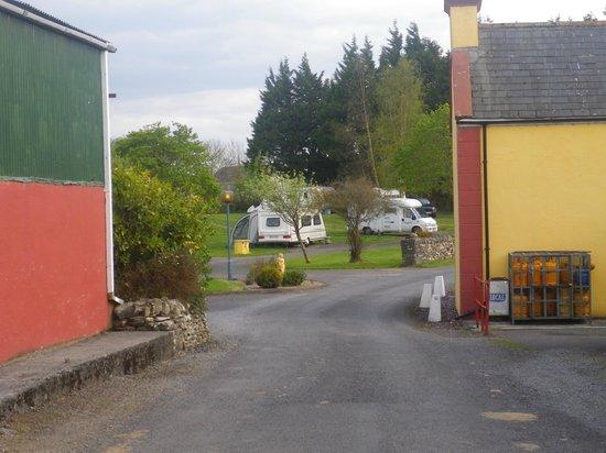 Carrowkeel Camping & Caravan Park : On the left is the children's indoor play area