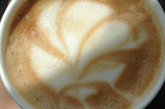Island Lava Java: Coffee with an artful touch!