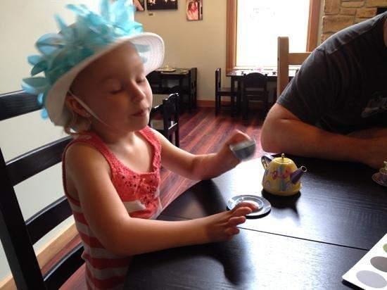 Sweetea's Tea Shop: More tea party fun with her Papa