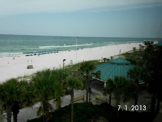 Boardwalk Beach Resort Hotel & Convention Center : Gulf view from room.
