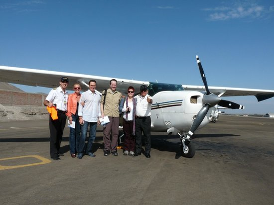 Great Nazca Tours: Flight over the Nazca Lines
