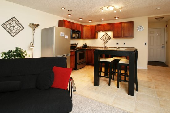Anchorage Uptown Suites: another view of one of our kitchen's