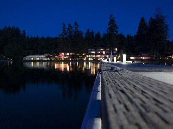 Alderbrook Resort & Spa: View from Dock
