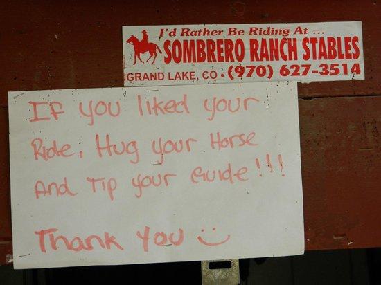 Sombrero Ranch: Grand Lake
