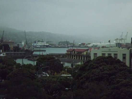 Amora Hotel Wellington: View from room