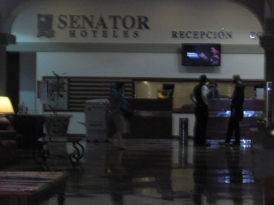 Senator Barcelona Spa Hotel: Reception