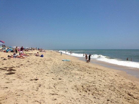 South Beach: great beach for families