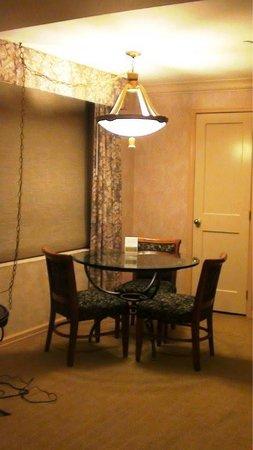Club Quarters Hotel, opposite Rockefeller Center : Sala jantar