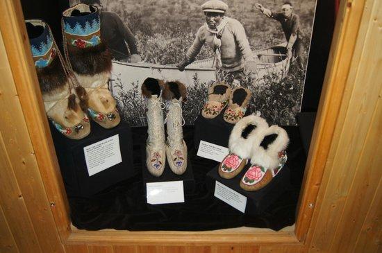 MacBride Museum: First Nation beadwork