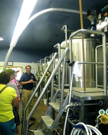 City Limits Pub: The Brewery tour