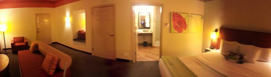 La Quinta Inn & Suites Chicago Downtown: panorama of room