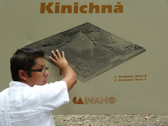Mormon Encounter LDS Tours : at Kinichna 'The house of the radiant god'