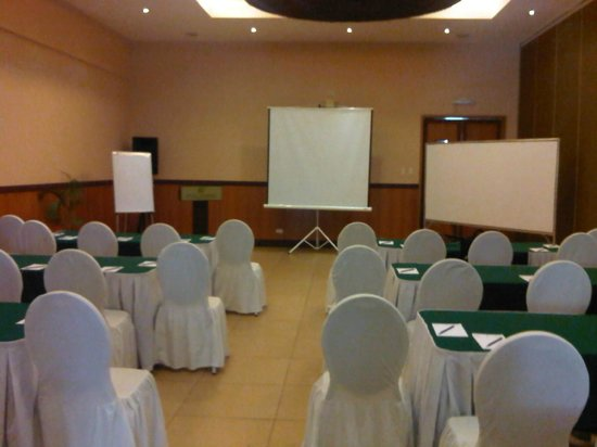 Hotel Kimberly: Workshop venue