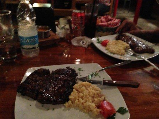 Serrano's Meat House: Best steak!