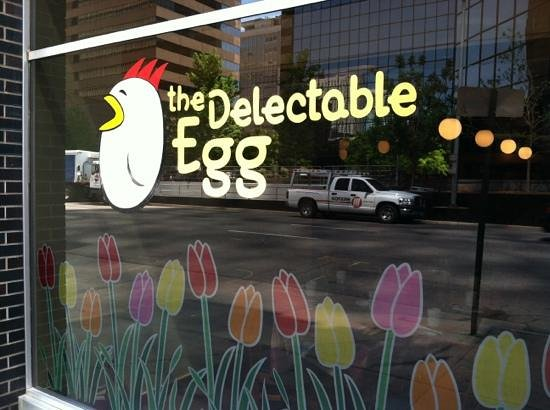 The Delectable Egg: outside