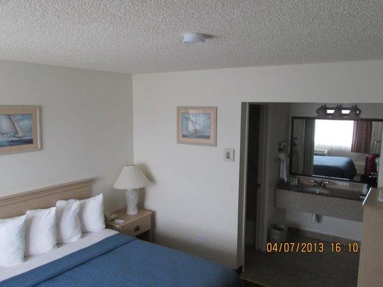 Quality Inn Pismo Beach: Habitación.