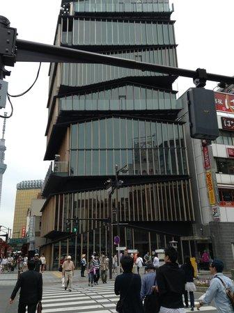 Asakusa Culture Tourist Information Center : かっこいい建物