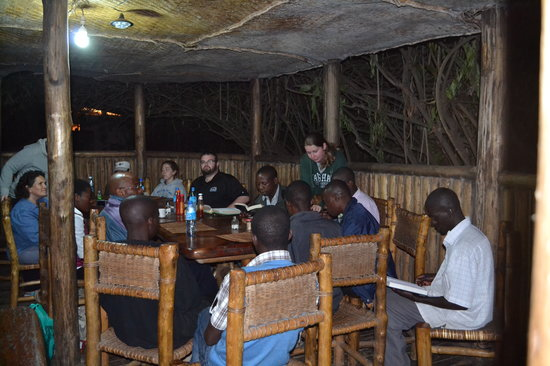 Wagtail Eco Safari Camp: Dinner, friends, and devotion!
