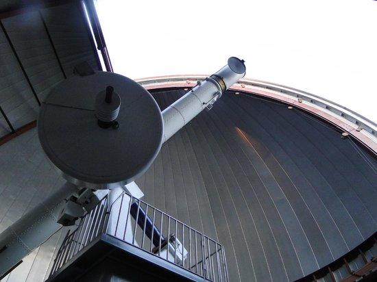 Roper Mountain Science Center: telescope