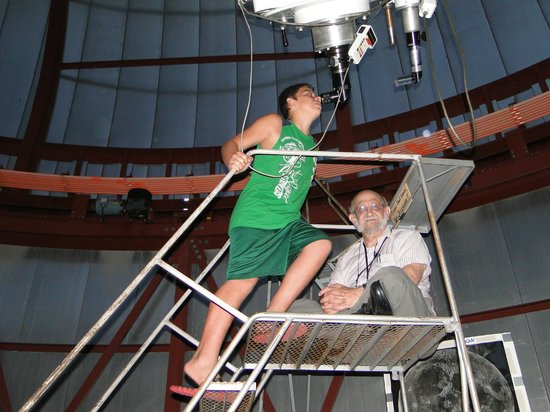 Roper Mountain Science Center: peek at the moon