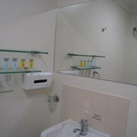 Comfort Hotel Perth City : 洗面台