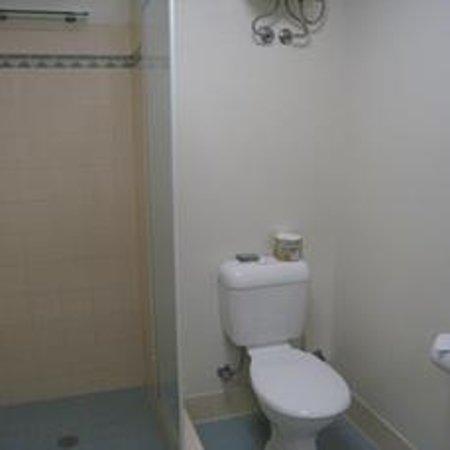 Comfort Hotel Perth City : シャワースペース