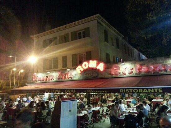 La Roma : soirée