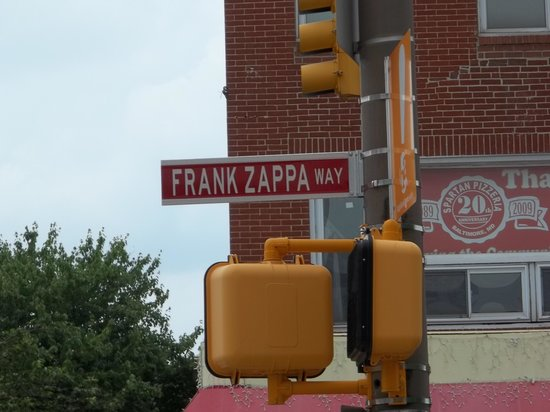 La Quinta Inn & Suites Baltimore South Glen Burnie: Frank Zappa Way in downtown Baltimore