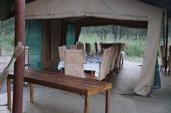 Dunia Camp: Dining Area