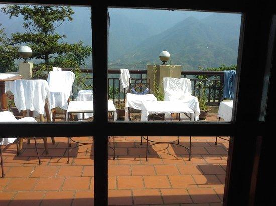 Grand View Sapa Hotel: Вид из номера