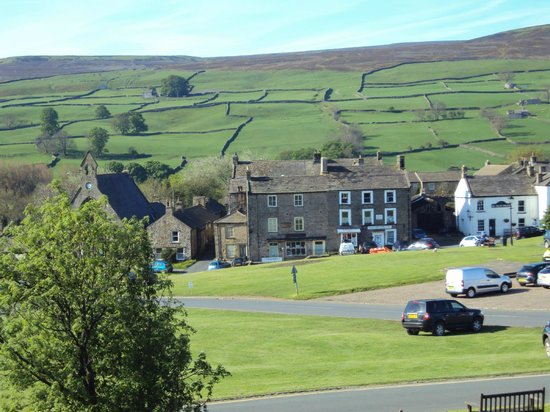 Burgoyne Hotel: View from our room, Gunnerside