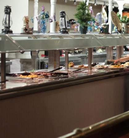 Tropicana Laughlin: Rhis is just a small portion of the buffet. Clean, lots of variety.